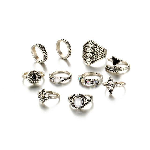Perseus Ring Set - Rosetta Sterling