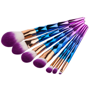 7pcs Unicorn Diamond Ombre Brush Set - Rosetta Sterling