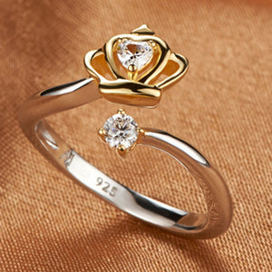 Crown Jewel Ring - Rosetta Sterling