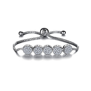 Orbit Crystal Bracelet - Rosetta Sterling