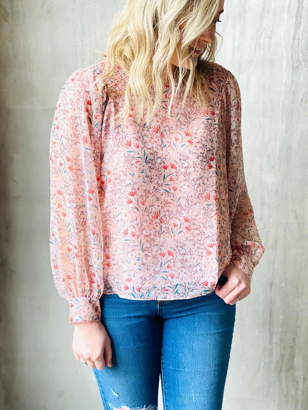 Lucie Floral Top