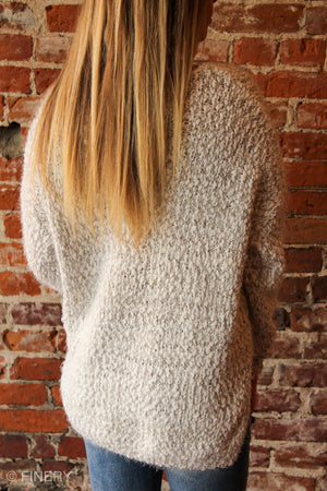 Meika Fuzzy Knit Sweater