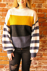 Graddy Colorblock Sweater