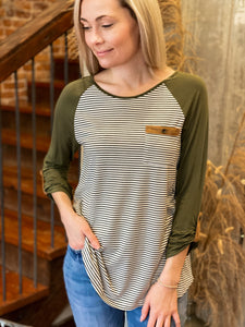 Lenor Stripe Top
