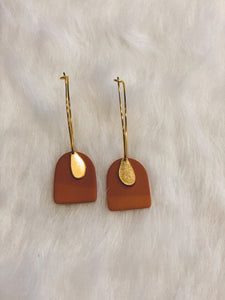 Orange and Gold Dangles
