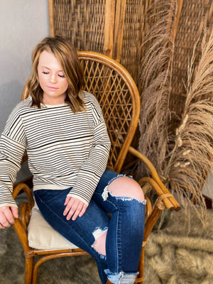 Skylar Striped Sweater