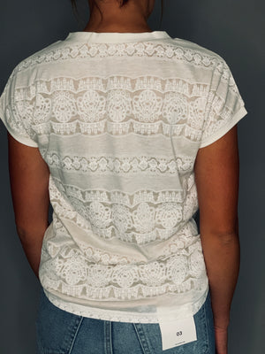 Spencer Lace Top