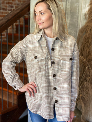 Priscilla Plaid Jacket