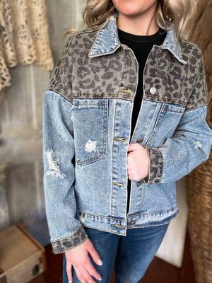 Can't Be Tamed Denim Jacket