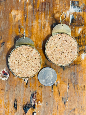 Jansen Cork Earrings