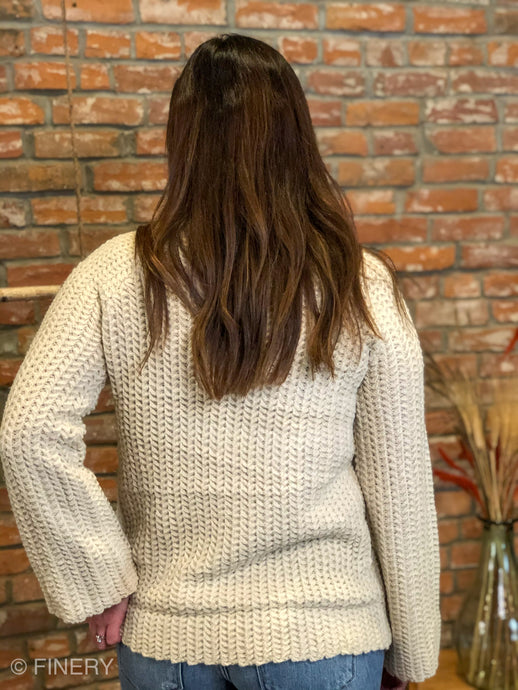 Tex High Neck Sweater
