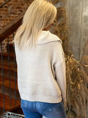 Holland Mock Neck Sweater