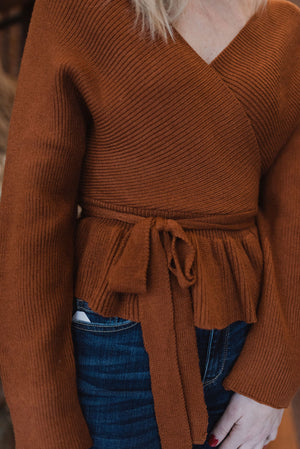 Noella Peplum Sweater