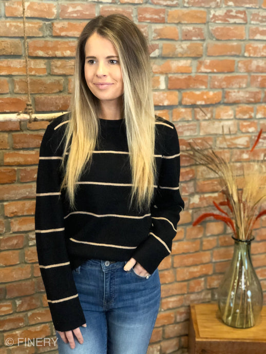 Liv Striped Sweater