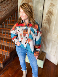 Aztec Distressed Jacket
