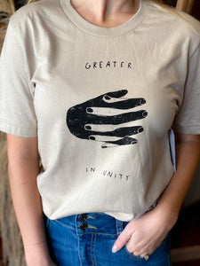 Greater In Unity Graphic Tee