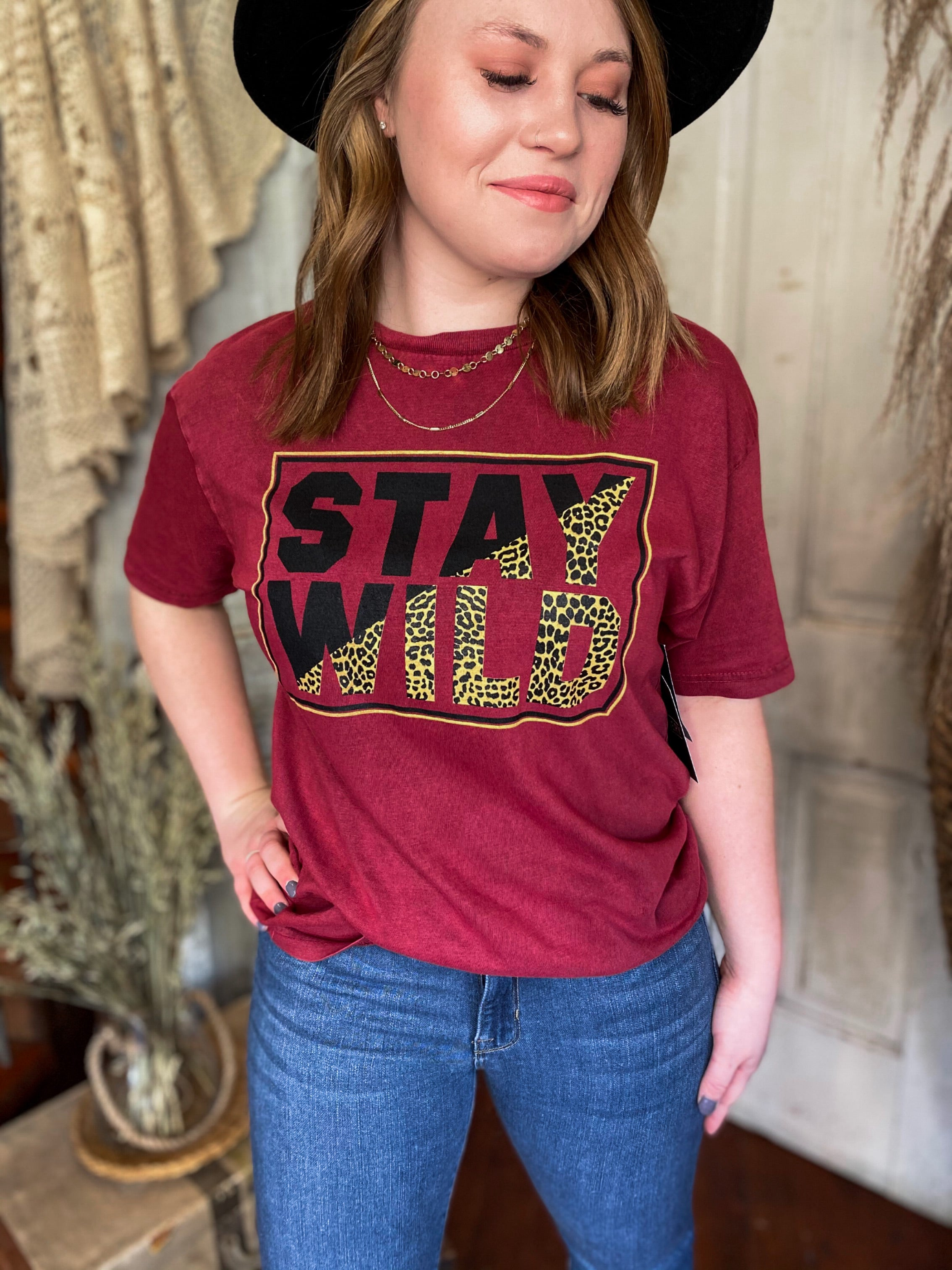 Stay Wild Graphic