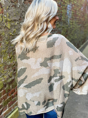 Dylan Camo Pullover
