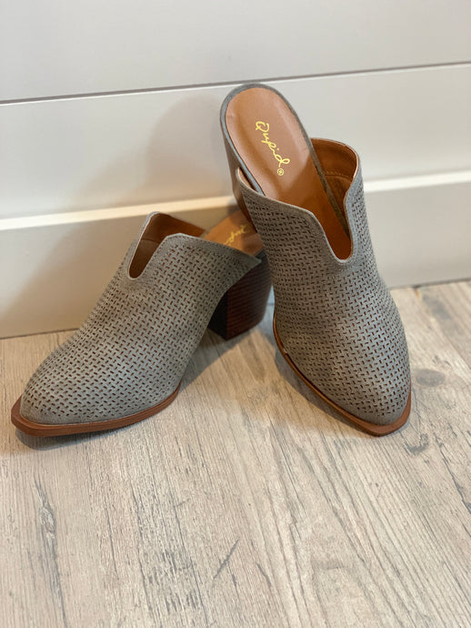 Prenton Perforated Clog