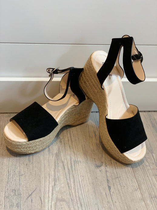 Logan Suede Platforms
