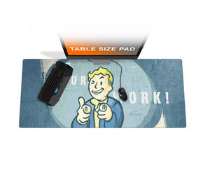 "50""x24"" Table Size mousepad"