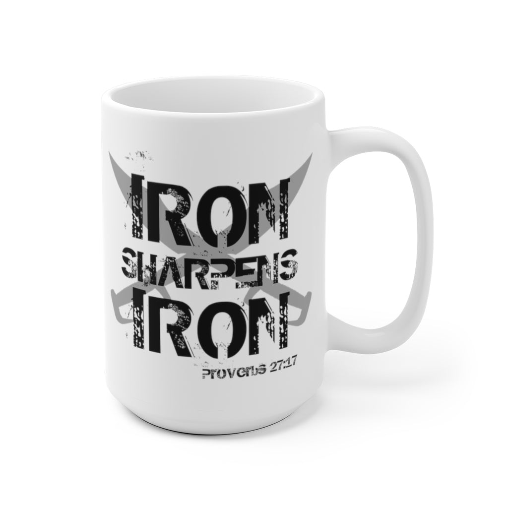 """Iron Sharpens Iron"" Mug"