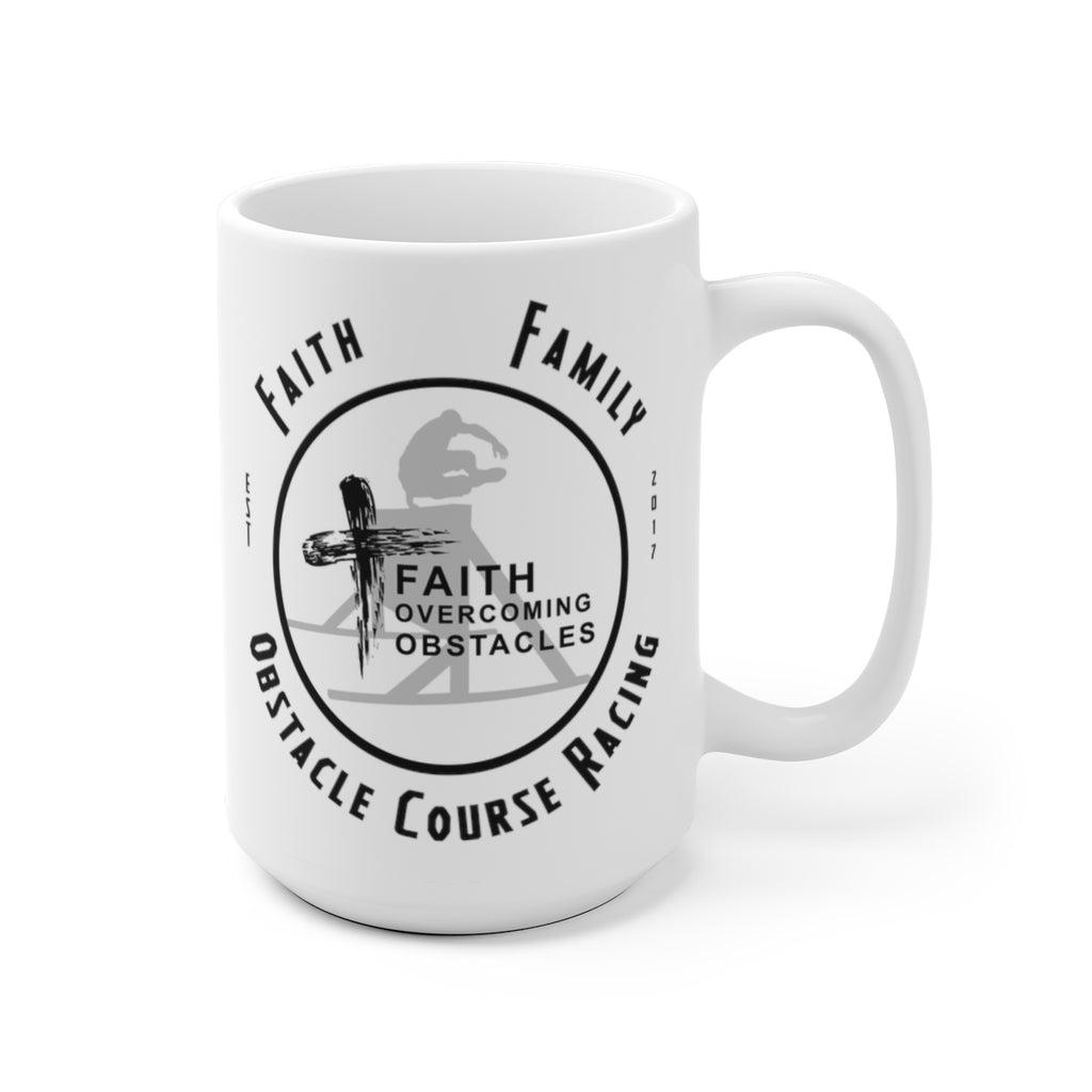 """Faith, Family, OCR"" Mug"