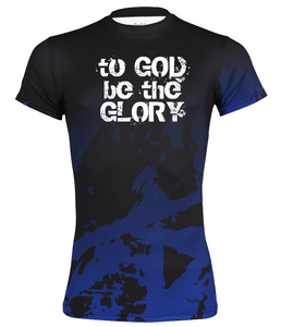 "Men's Performance Compression ""To God Be The Glory"" Short Sleeve Shirt"