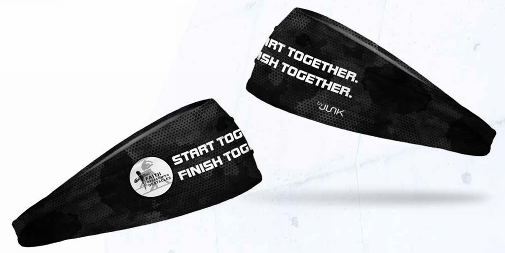"""Start Together. Finish Together."" Headband"