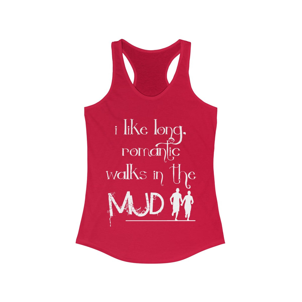 "Women's ""Romantic Walks"" Racerback Tank"
