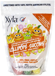Xylitol - 100% Natural Assorted Lollipops