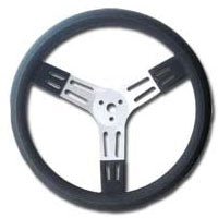 PSC Black Aluminum Steering Wheel