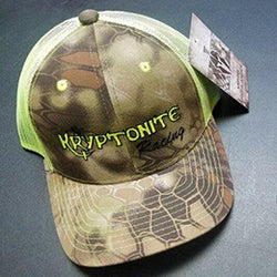 Kryptonite Kustoms Hats - Brown and Green