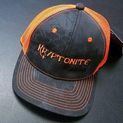 Kryptonite Kustoms Hats - Orange and Black