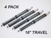 "2.25"" - 16"" Travel (4) Shock & Spring Packages"