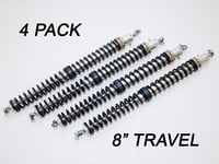 "2.25"" - 8"" Travel (4) Shock & Spring Packages"