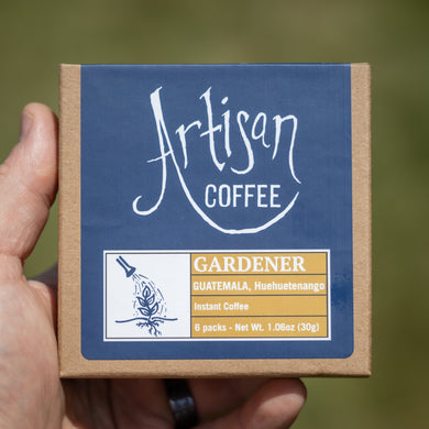 GARDENER - Instant Coffee - 6 Pack