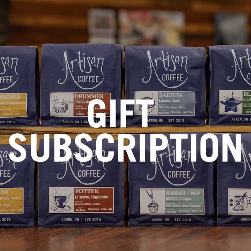 Artisan Coffee Gift Subscription
