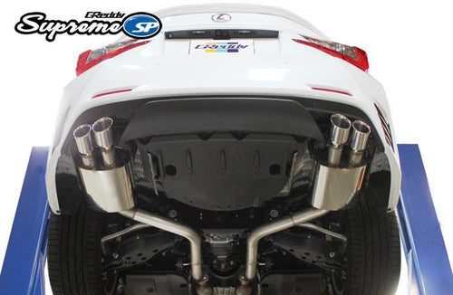 Greddy Supreme SP Exhaust: Lexus RC350