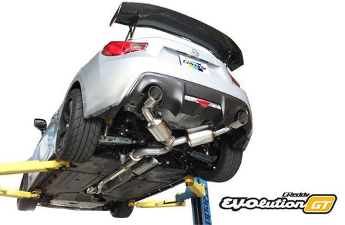 Greddy EVOlution GT Exhaust: Scion (ZN6) FR-S / Subaru BRZ