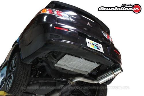 Greddy Revolution RS Exhaust: Mitsubishi (JA3AU) Lancer GTS
