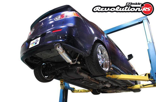 Greddy  Revolution RS Exhaust: Mitsubishi (JA32U) Lancer GT