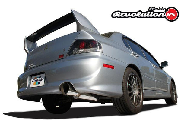 Greddy Revolution RS Exhaust: Mitsubishi (CT9A) Evo 8/9