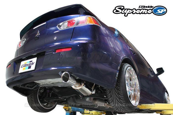 Greddy  Supreme SP Exhaust: Mitsubishi (JA32U) Lancer GT