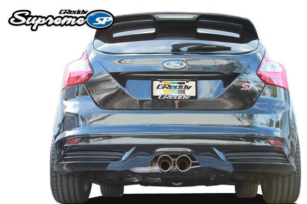 Greddy Supreme SP Exhaust: Ford Focus ST