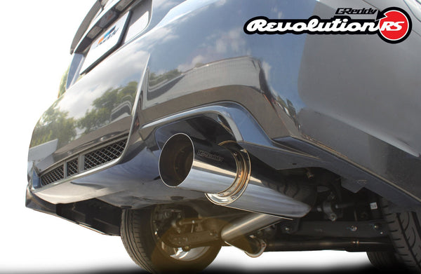 Greddy Revolution RS Exhaust: Subaru (GV8) STI Sedan