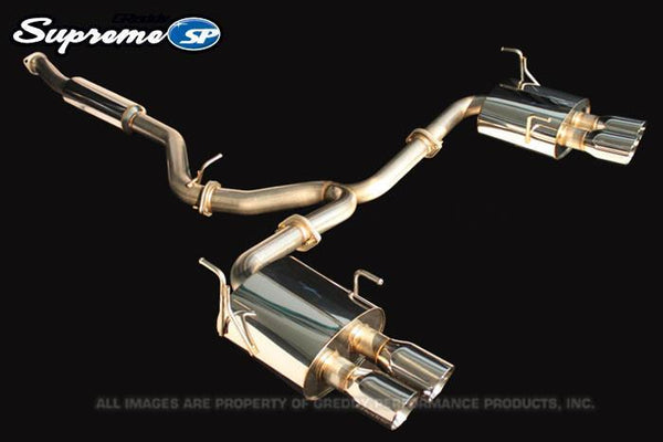 Greddy Supreme SP Exhaust: Subaru (GV8) STI Sedan