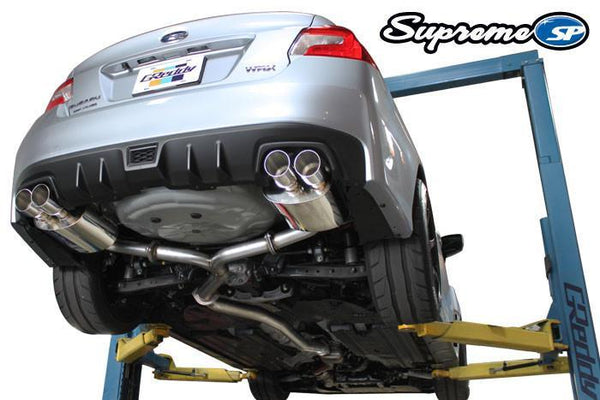 Greddy Supreme SP Exhaust: Subaru (VA) STI/WRX Sedan