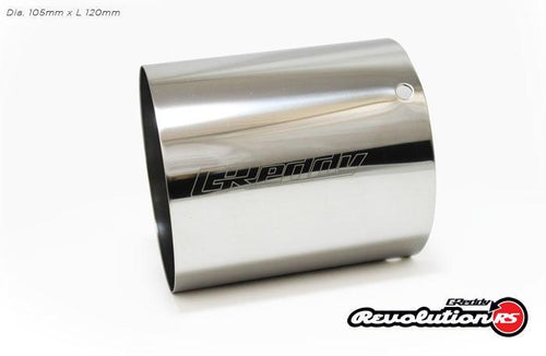 Greddy - Replacement Revolution RS SUS 304 Tip(s)  105mm Dia.
