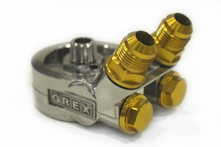 GReddy Oil Cooler Block Adapter - Remote Filter